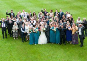 съемка свадеб с квадрокоптера